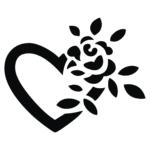 Herz-Rose