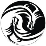 Yin Yang Drache